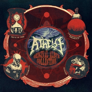 ATHEIST Original Album Collection (4 CD)
