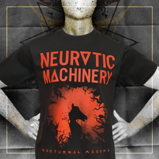NEUROTIC MACHINERY Pánské tričko Nocturnal Misery