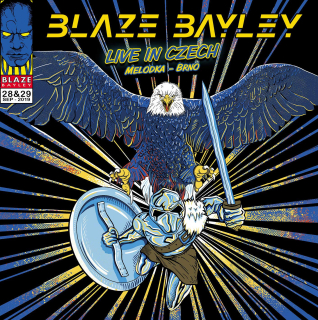 BLAZE BAYLEY Live in Czech (2 CD)